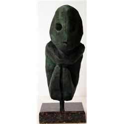 Patina Bronze Sculpture - Max Ernst