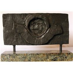 Bronze sculpture - Marble Base - Max Ernst