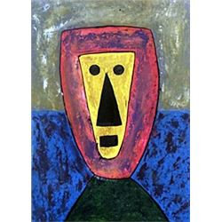 The Warrior 1960' - Rufino Tamayo
