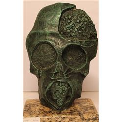 The Face of War - Patina Bronze - Salvador Dali