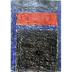 Pastel Drawing on Paper - Mark Rothko