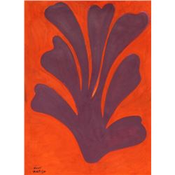 Untitled 1940' - Oil on Paper - Henri Matisse