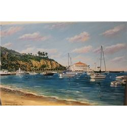 Avalon Bay - Lithograph -  Michael Lavery
