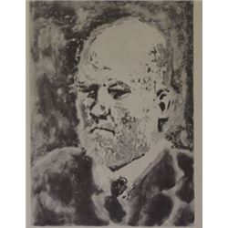 Eldest man - Lithograph -  picasso