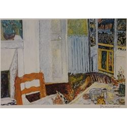 Searching the Floor  - Signed Lithograph -  Bonnard