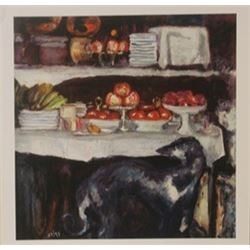 Red apples - Lithograph - Bonnard