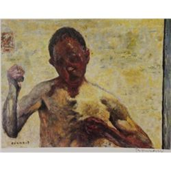 Bloodied  - Signed Lithograph -  Bonnard