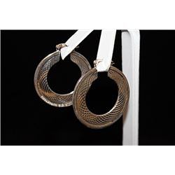 Elegant T & Co. Hoop Earrings (22E)
