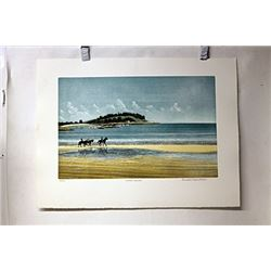 Hand Signed Lithograph St. C. Miller