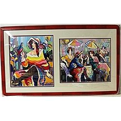 Framed 2-in-1 Michael Kerman Lithographs (182E-EK)