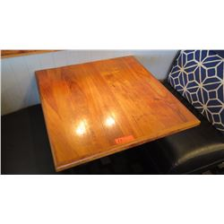 Koa Wood Table Top (29x30) w/Wall Mount Stand/Hardware