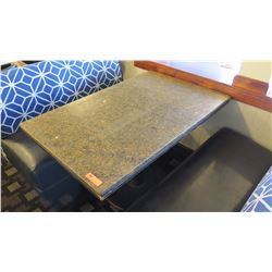 "Granite Rectangular Table - 46""L x ""29""W x ""28""H"