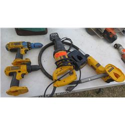 Pencil Vibrator, Drills, Reciprocating Saw, Battery Charger, etc - No Batteries