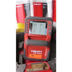 Hilti PS 1000 X-Scan Concrete/Ground Radar Detection System - Purchased for $40K