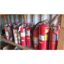 Approx. 40 Qty Fire Extinguishers