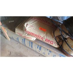 2 Bags of Cement, Metal Banding, Sonotube Round Column Form 8'2, and Misc.