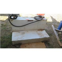 Weather Guard Diesel Tank w/Pump and Nozzle