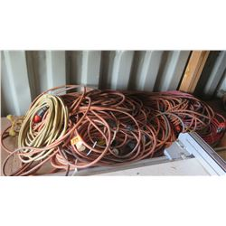 Huge Lot of Misc. Commercial Grade Electrical Extension Cables
