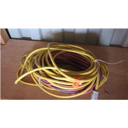 Misc. Industrial Power Cables - Coated Yellow and Red & Black