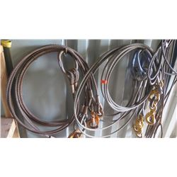 Steel Cables with Lifting Hooks