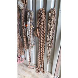 Multiple Chains with Lifing Hooks, Shackles