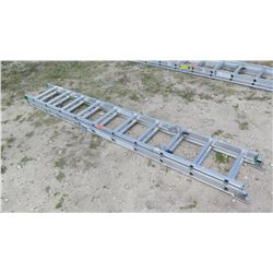 Werner D1220-2 Type II Aluminum 20' Extension Ladder