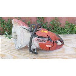 "Hilti DSH 900 16"" Concrete Hand Held Cut-off Saw (cant' start it, pull cord stuck)"