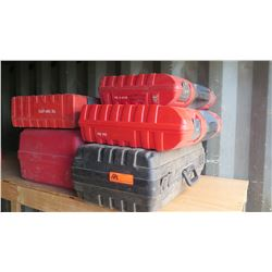 Qty 5 EMPTY Power Tool Cases