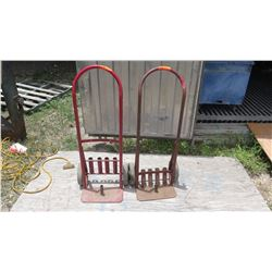 Qty 2 Hand Trucks (can be used to hold jackhammer and bits)