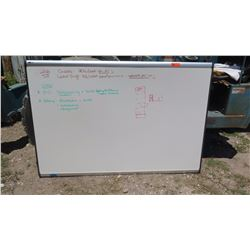 Large, White Dry Erase Board