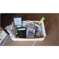 Electronic Label Makers & Misc. Ofc Supplies (Pens, Markers, Clips, Label Tabs, etc.)
