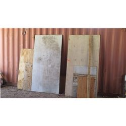 Misc. Plywood Sheets
