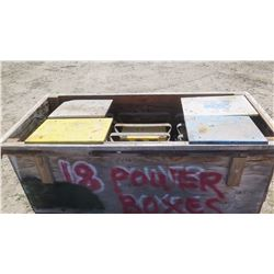 Qty 16 Qty Portable Power Distribution Boxes - Model Numbers May Vary