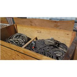 Huge Lot of Electrical Cables for Power Distribution Boxes