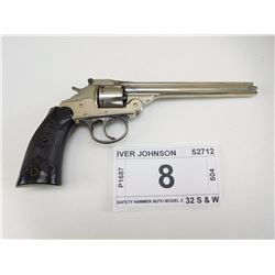 IVER JOHNSON , MODEL: SAFETY HAMMER AUTO MODEL 3 , CALIBER: 32 S & W