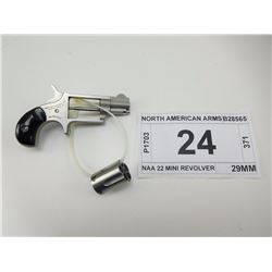 NORTH AMERICAN ARMS , MODEL: NAA 22 MINI REVOLVER , CALIBER: 22 LR