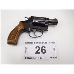 SMITH & WESSON , MODEL: AIRWEIGHT 37 , CALIBER: 38 SPL