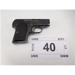 UNIS , MODEL: UNIS , CALIBER: 6.35MM