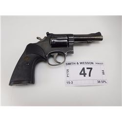 SMITH & WESSON  , MODEL: 15-3 , CALIBER: 38 SPL