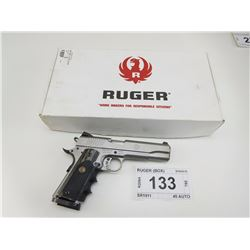 RUGER , MODEL: SR1911 , CALIBER: 45 AUTO