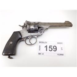 WEBLEY , MODEL: MK VI , CALIBER: 455 REV