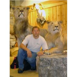 $400 Taxidermy Credit with Todd Peyser