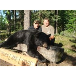 (10 total days) Five Days of Black Bear & 5 Days of Fishing for One Hunter