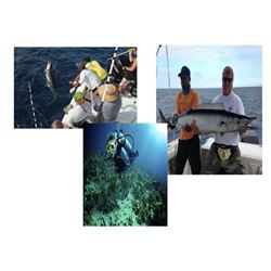 6 Day/5 Night Fishing and Dive Package for Two People