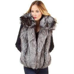 Fox Fur Vest Free monogramming and alterations included.