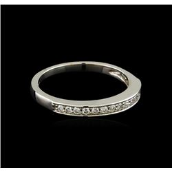 0.17 ctw Diamond Ring - 14KT White Gold