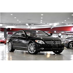 2008 Black Mercedes-Benz CL-Class CL600 Coupe