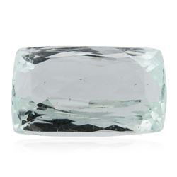 8.39 ctw Cushion Cut Natural Cushion Cut Aquamarine