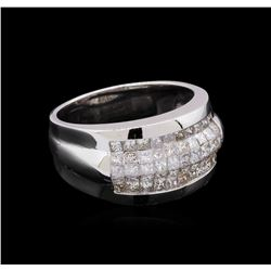 14KT White Gold 1.51 ctw Diamond Ring