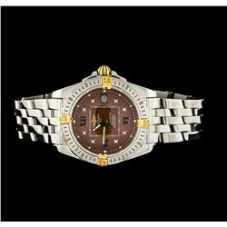 Breitling Stainless Steel Windrider Lady Cockpit Ladies Watch